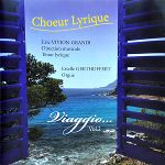 CD Viaggio vol. 1 du Choeur Lyrique (recto)